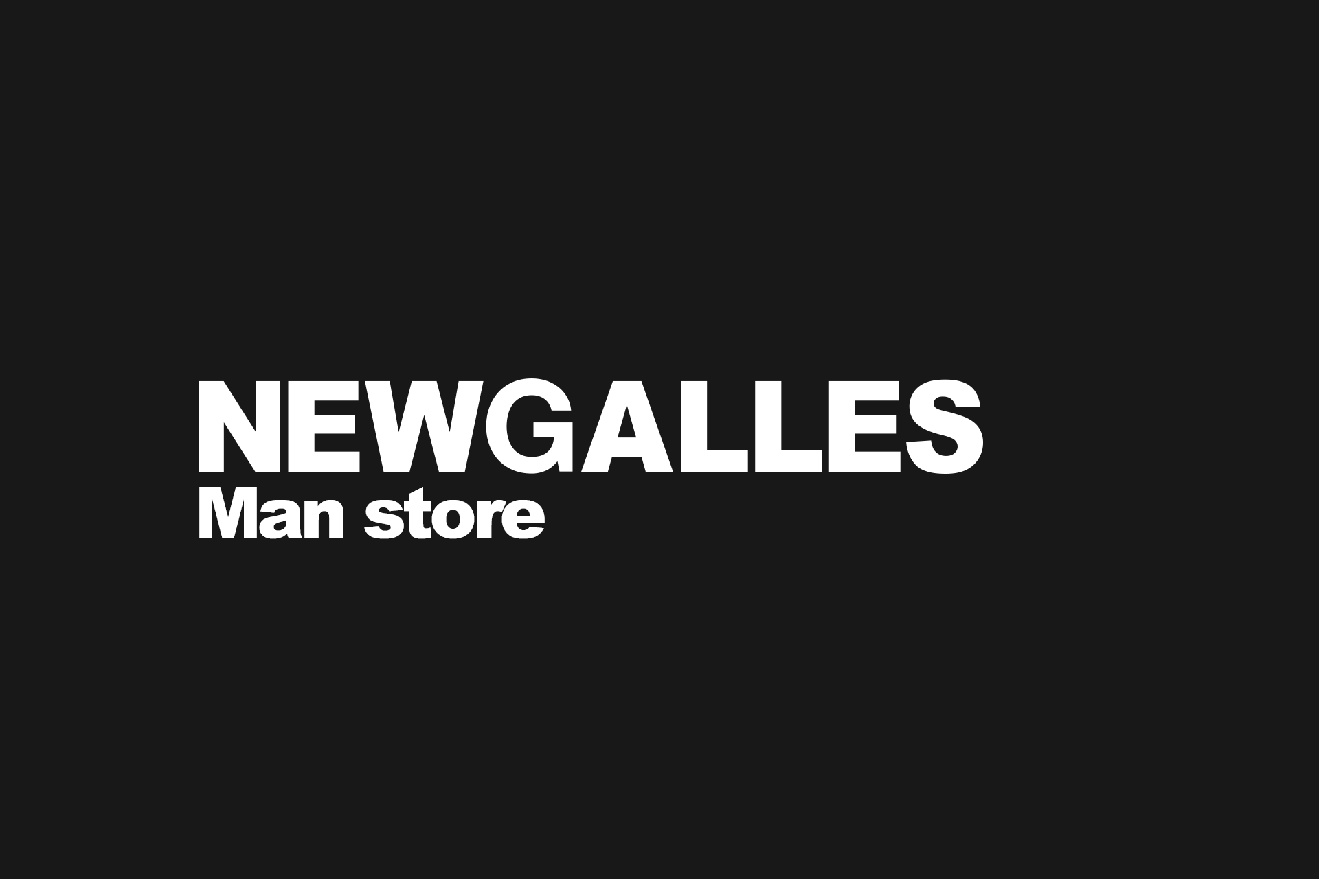 Man store - New Galles